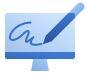 Embeddable e-signatures