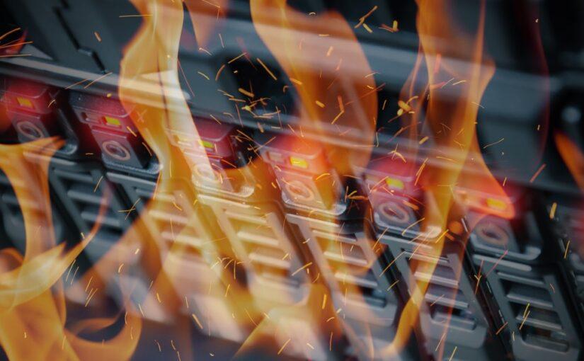 Backup SaaS: lições do incêndio do data center da OVHcloud